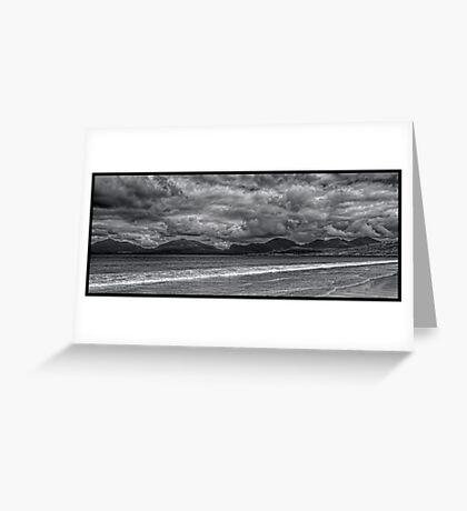 Luskentyre Beach on the Isle of Harris, Scotland Greeting Card