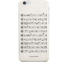 Black Birds iPhone Case/Skin