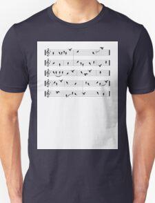 Black Birds Unisex T-Shirt