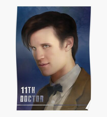 11th Doctor -Doctor Who Poster