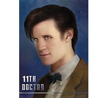11th Doctor -Doctor Who Photographic Print