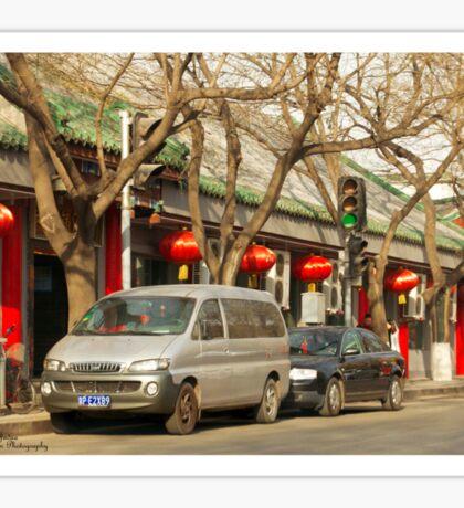 Beijing Streets - 1 ©  Sticker