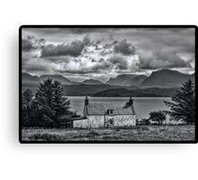 My Highland Home Canvas Print