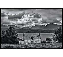 My Highland Home Photographic Print