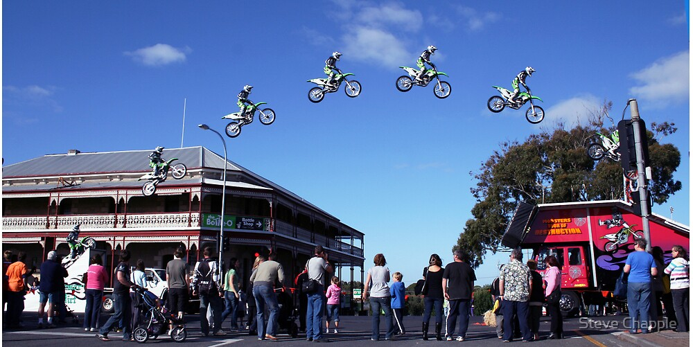 Josh Burdon Main street Jump by Steve Chapple