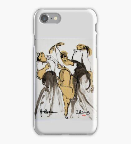 3 dancers iPhone Case/Skin