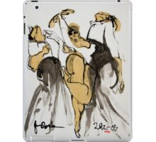 3 dancers iPad Case/Skin