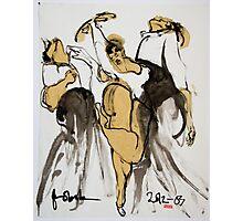 3 dancers Photographic Print