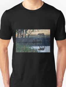 Reflection of a tiger Unisex T-Shirt