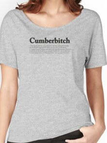 CUMBERBITCH TEE - 2nd Edition Women's Relaxed Fit T-Shirt