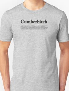 CUMBERBITCH TEE - 2nd Edition T-Shirt