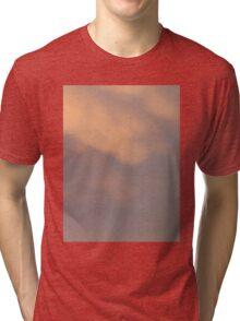 Pinky peach soft sunset clouds. Tri-blend T-Shirt