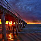 Grange Jetty Sunset by Robert Sturman