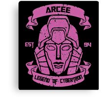 Legend Of Cybertron - Arcee Canvas Print
