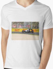 Williams FW37 Formula One Car Mens V-Neck T-Shirt