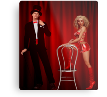 the show must go on Metal Print