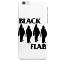 BLACK FLAB iPhone Case/Skin