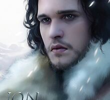 Jon Snow - Game of Thrones by Caim