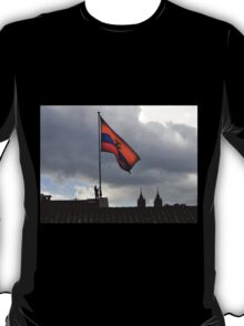 Lowering The Flag On The Presidential Palace - Ecuador T-Shirt