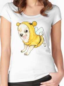 Yogurt the Pirate dog Women's Fitted Scoop T-Shirt