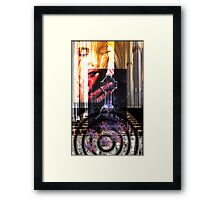 HER LOSS Framed Print