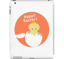 Happy Easter from Chicky! iPad Case/Skin