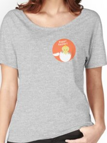 Happy Easter from Chicky! Women's Relaxed Fit T-Shirt