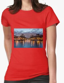 Amsterdam After Dark Womens Fitted T-Shirt