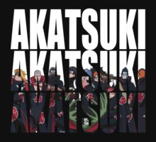 The Akatsuki by woPLrdAY