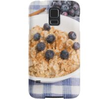 Oatmeal and Blueberries Samsung Galaxy Case/Skin