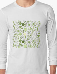 SQUARE for pillows, travel mugs, etc: Yet more diatoms! Long Sleeve T-Shirt