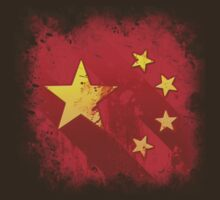 Grungy China flag by Ragcity