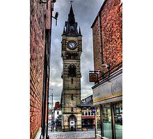Darlington Town Clock Photographic Print