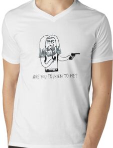 Tolkien to me Mens V-Neck T-Shirt