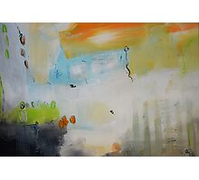 Abstract Painting on Paper - Study Photographic Print