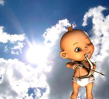 cupid calling by Cheryl Dunning