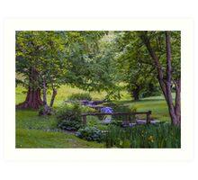 Garden Valley Art Print