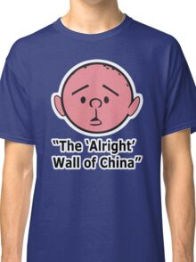Karl Pilkington - The Alright Wall Of China Classic T-Shirt