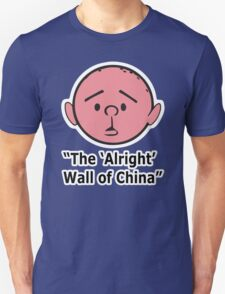 Karl Pilkington - The Alright Wall Of China T-Shirt