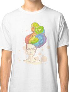 Rainbow in My Head Classic T-Shirt