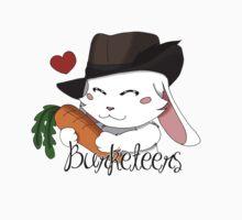 Burgundy Bunny One Piece - Short Sleeve