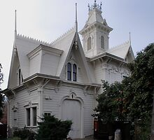 the Sacramento Historic Governors' Mansion Carriage House by Lenny La Rue, IPA