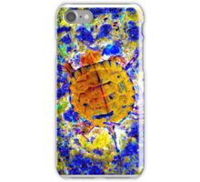 Toddler Turtle Gold iPhone Case/Skin