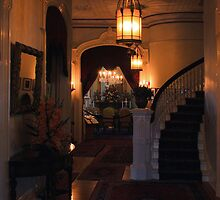 Sacramento's Historic Governor's Mansion: front entryway by Lenny La Rue, IPA