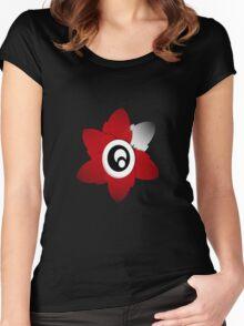 Little Flower Women's Fitted Scoop T-Shirt