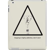 Hopping Is Highly Addictive - Morris Theme iPad Case/Skin