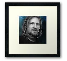 Boromir - Lord of the Rings Framed Print