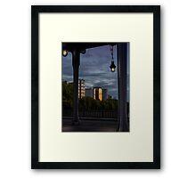 Paris Sunset Framed Print