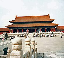 Beijng, The Forbidden City, Hall of the Supreme Harmony by presbi