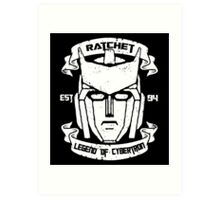 Legend Of Cybertron - Ratchet Art Print